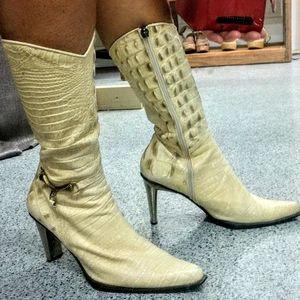 Nando Muzi snake skin boots.